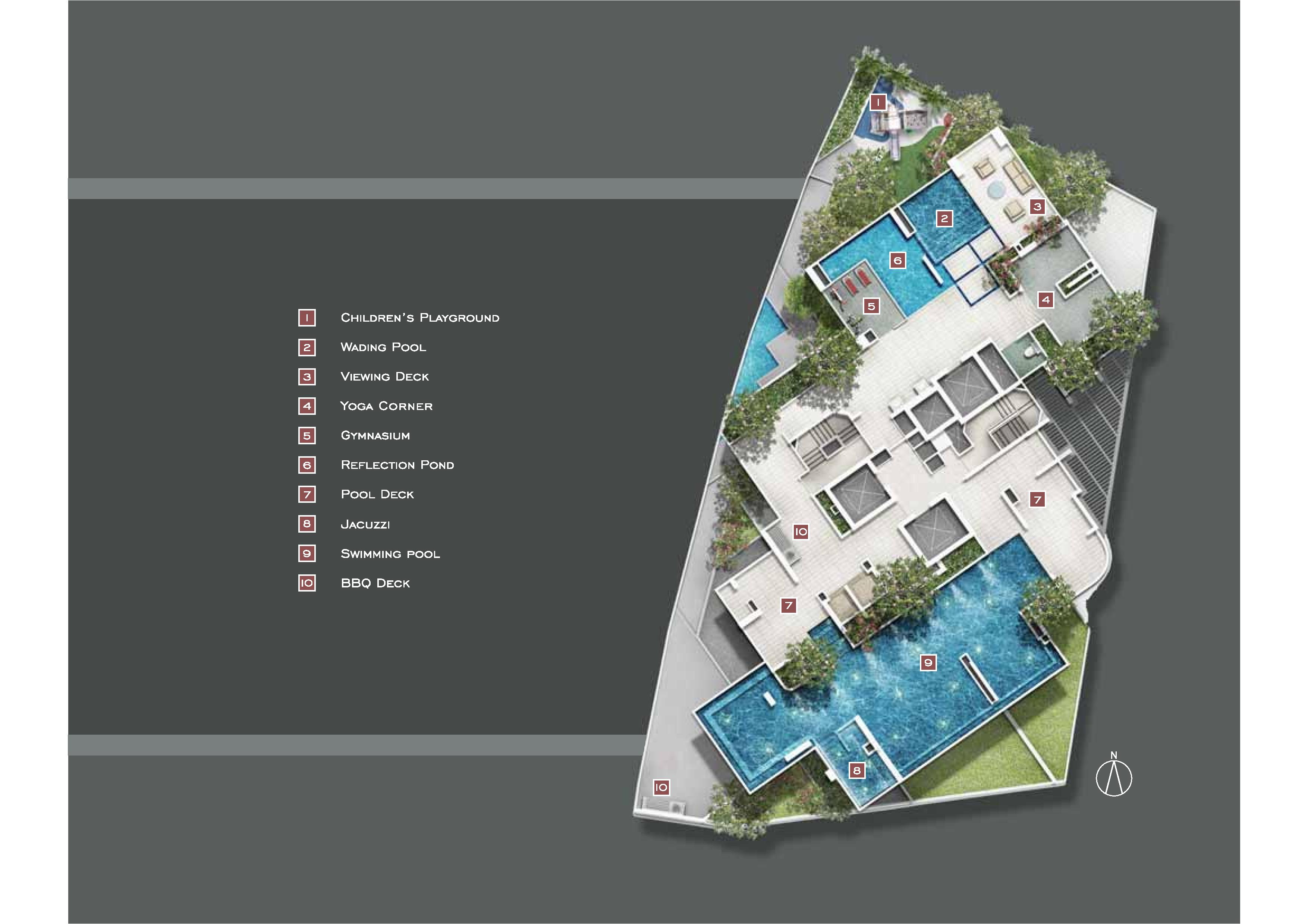 Starlight Suites Site Map