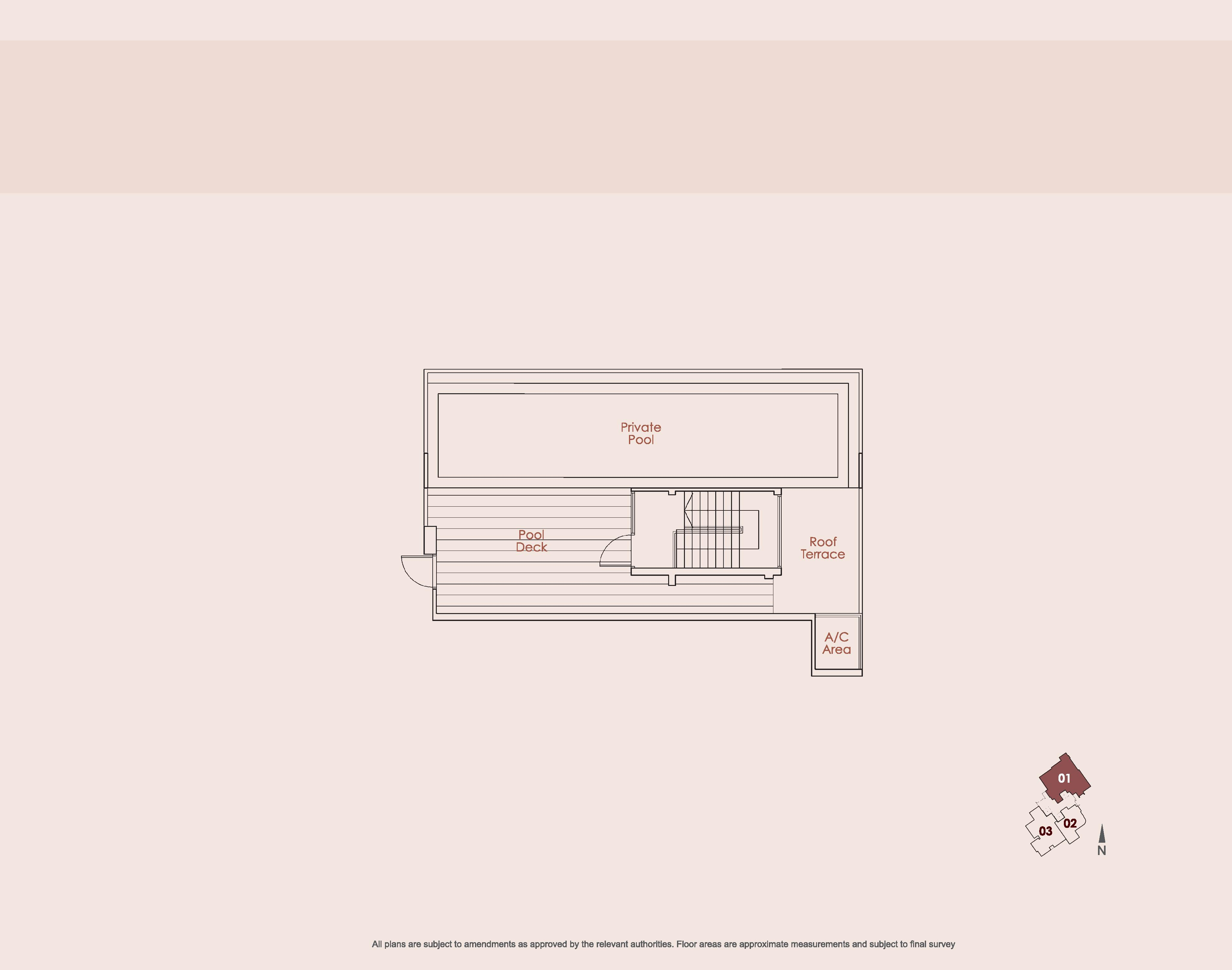 Starlight Suites Type CP 4 Bedroom Floor Plan Part 2